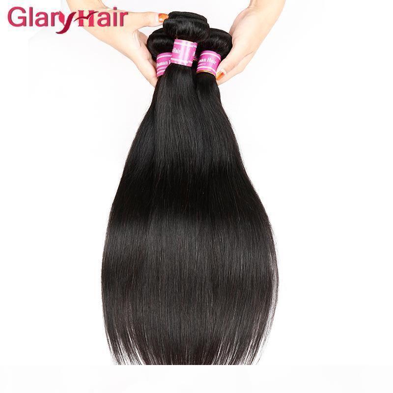 Fabrika çıkış fiyatı ucuz Brezilyalı Saç Paketler İpeksi Remy Düz İnsan Saç Uzantıları Malezya Hint Perulu Bakire Saç Paketi Fırsatları