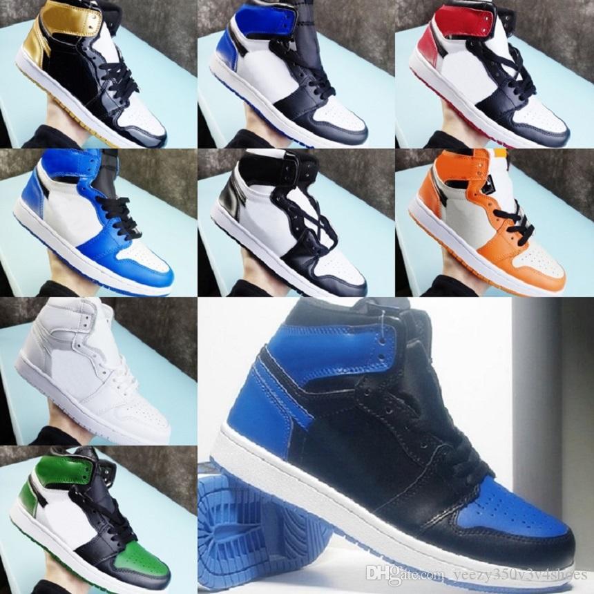 Retro 13s 12s 11s 1s zapatos de los hombres las mujeres de baloncesto púrpura del teñido anudado de pino verde obsidiana mens 1 zapatos zapatillas de deporte