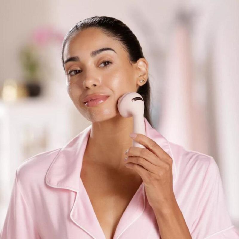 Instrument de nettoyage de la faciale électrique Silicone Lave-linge Face Artefact Cleaneur de visage imperméable rechargeable rechargeable rechargeable