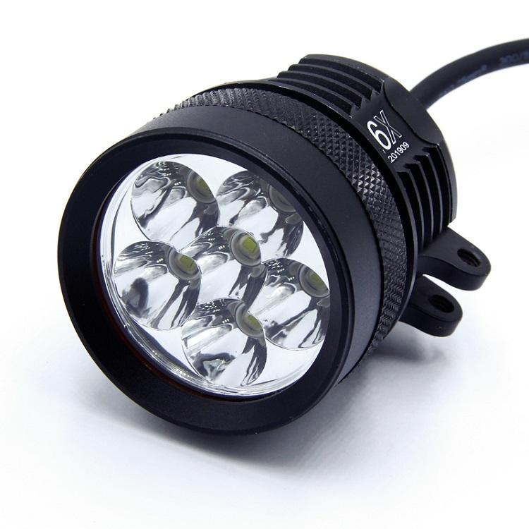 9 LED 90W DC12 60V Motosiklet LED motorlu motosiklet ışık için CE fabrika toptan araba ışığı yanar