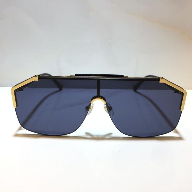 0291 popular Sunglasses For Men women fashion mask unisex sunglasses Half Frame Coating Mirror Lens Carbon Fiber Legs Summer Style 0291S