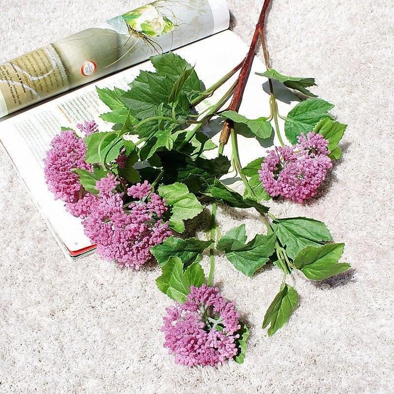 milan Pflanze Künstliche Blumen für zu Hause Gartendekoration flores artificiales Kunststoff Kunstblumen fleur artificielle FOPA #