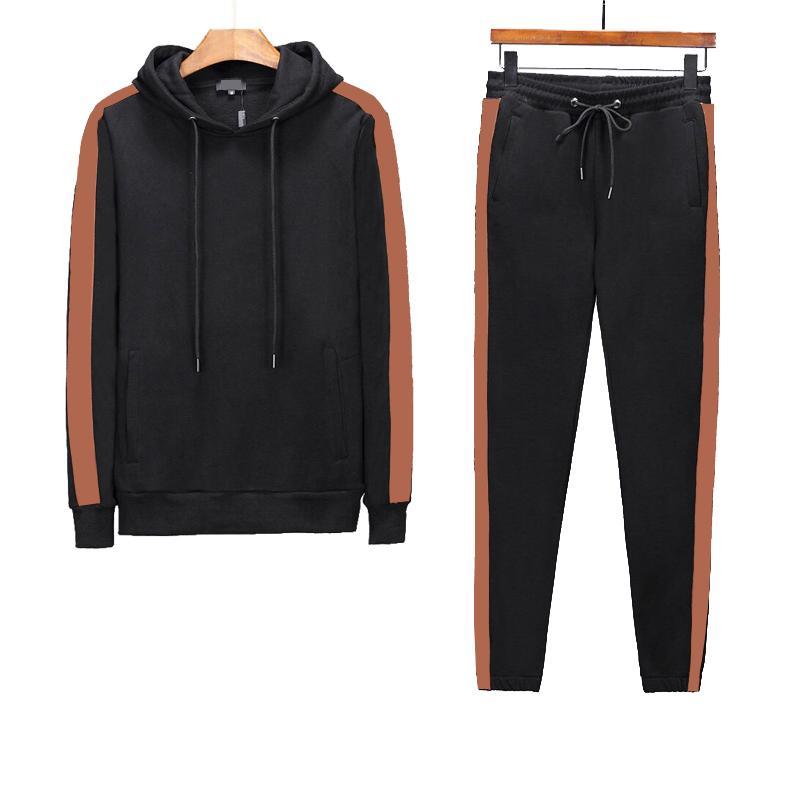 Moda Tasarımcısı Eşofman İlkbahar Sonbahar Rahat Unisex Lüks Spor Erkek Parça Takım Elbise Yüksek Kaliteli Hoodies Erkek Giyim