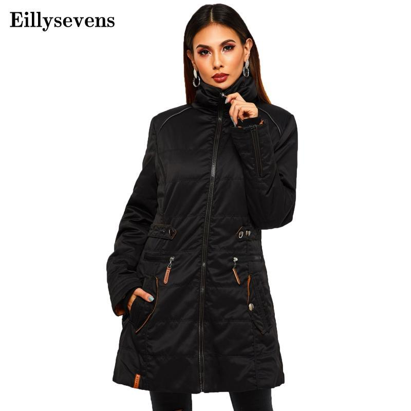 Women's Down & Parkas 2021 Winter Female Coats High Quality Turtleneck Coat Women Fashion Jackets Warm Woman Clothing Casual Outwear#3