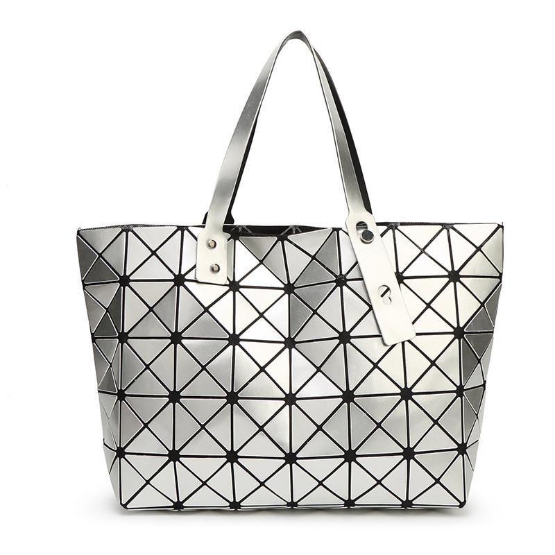 Hombro Nuevo Diamante Lattice Lehab Bag Damas Geométrico Top Moda Bolso Mukk Issey Bag Bao Design Compras Bao Luxury MJQPE