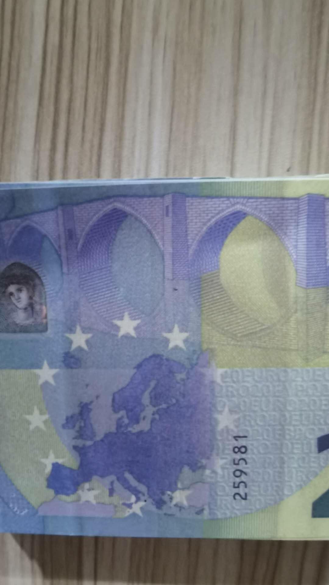 08 PROP COPY PAPEL MONEY EURO BAGS GAME PROP PROP BAR Erwachsene Designer Film Sonderbühne Euro Kinder Spielzeug Gefälschte Währung Prop Avjbt