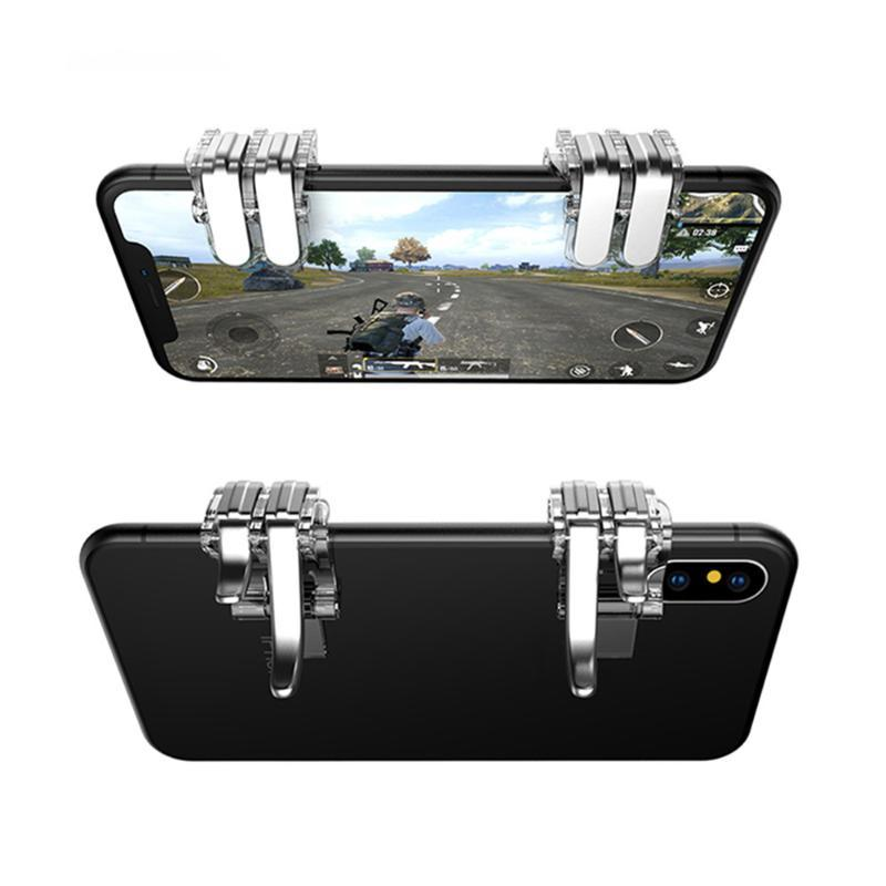 Gaming Trigger Fire Button Aim Key Smart phone Mobile Joysticks Game L1R1 PUBG Shooter Controller For PUBG