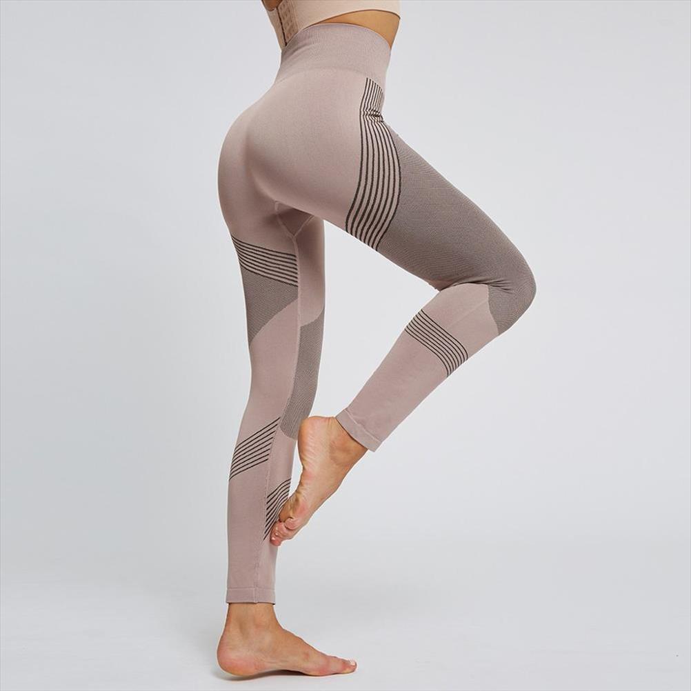 Impressão sem emenda Leggings para a aptidão Mulheres cintura alta estiramento Hip Elevador Leggings Mulheres Push Up elásticas impressão Calças 20