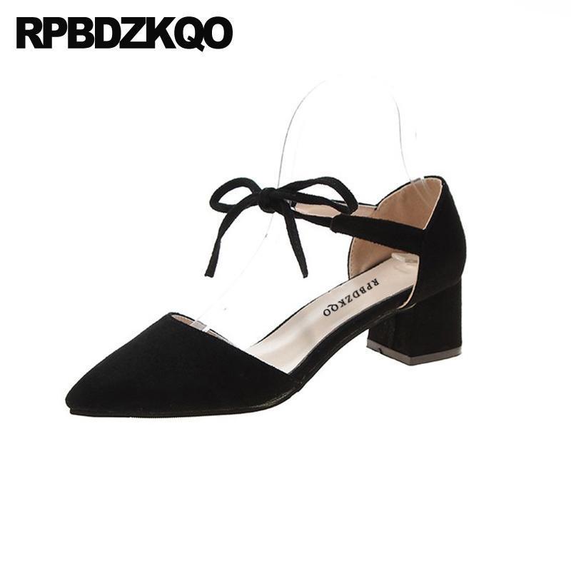 Cina 2021 Vino Blocco rosso Pompe spesse Donne casual casual Chunky a buon mercato in pelle scamosciata in pelle scamosciata Shoes Shoes Shoes Shoes Fashion Lace Up Nero