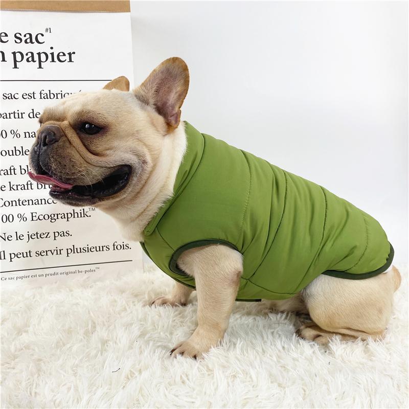 Bago Fardou autunno e l'inverno della peluche Warm Vest Corrida Keji Fat Dog Big Size Pet Clothes WWDU