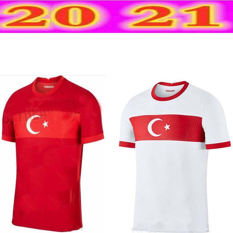 Top 2021Turkish Camisa de Futebol 20 21 Yazici Caglar S Y NC Ü Demiral Ozan Kabak Calhanoglu Celik Clube Nacional