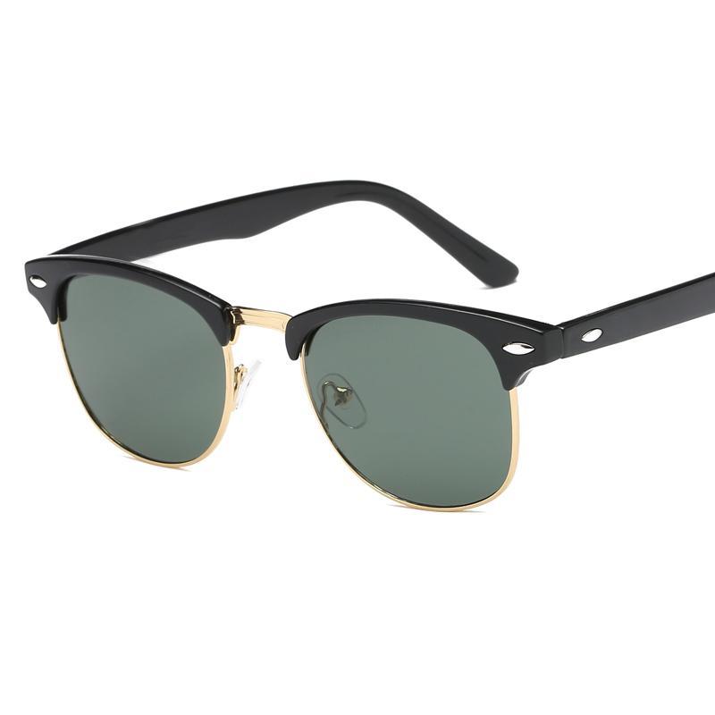 الأزياء النظارات الشمسية الرجال النساء نظارات الشمس مصمم جوستين الاستقطاب gafas دي سول بارد تصميم النظارات الذكور مع الحالات مكبرة 5 ألوان
