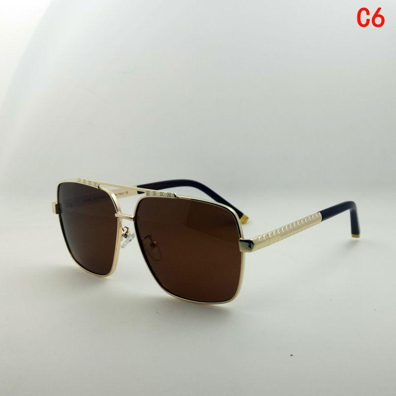 Солнцезащитные очки Sonnenbrille Luxury Occhiali Негабаритные Lunettes Oculos Escros Мода Человек Женщина Поляризация UV400 Квадратный Коронполяризованный Винтаж