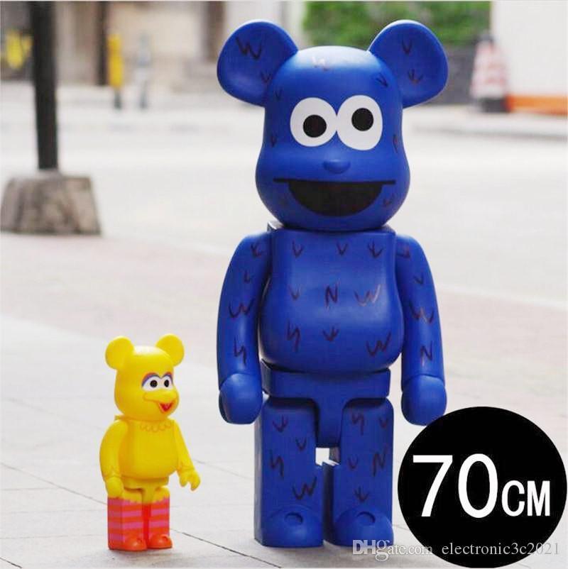 TOP 1000% 70cm Be @ rbrick Originalfake e una varietà di tipi CH Art figura bambola Collezione PVC modello di camera decorazioni capretti del regalo