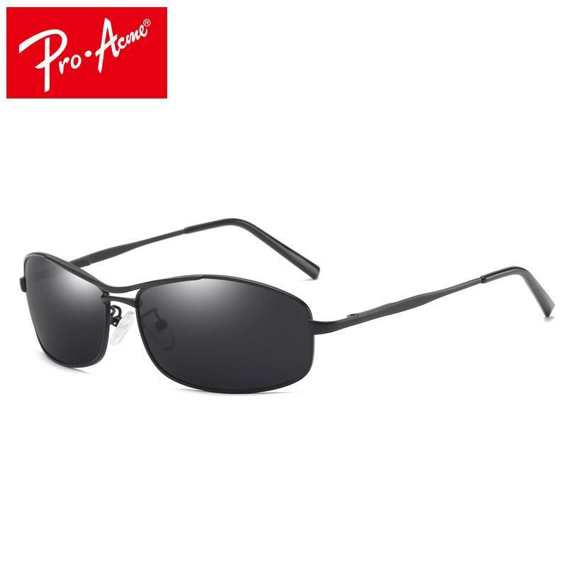 Pro Acme óculos de sol novos Homens Retângulo Masculino Sun Glasses Condução Moda Viagem Eyewear UV400 com caso PA0968