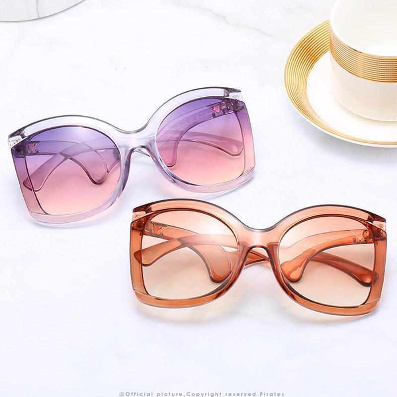 Уникальные винтажные ретро Goggle Солнцезащитные очки Женщин Бренд Дизайнер Мода Женщины Бабочка Квадрат Солнцезащитные Очки Женские Невывечивает Shades1