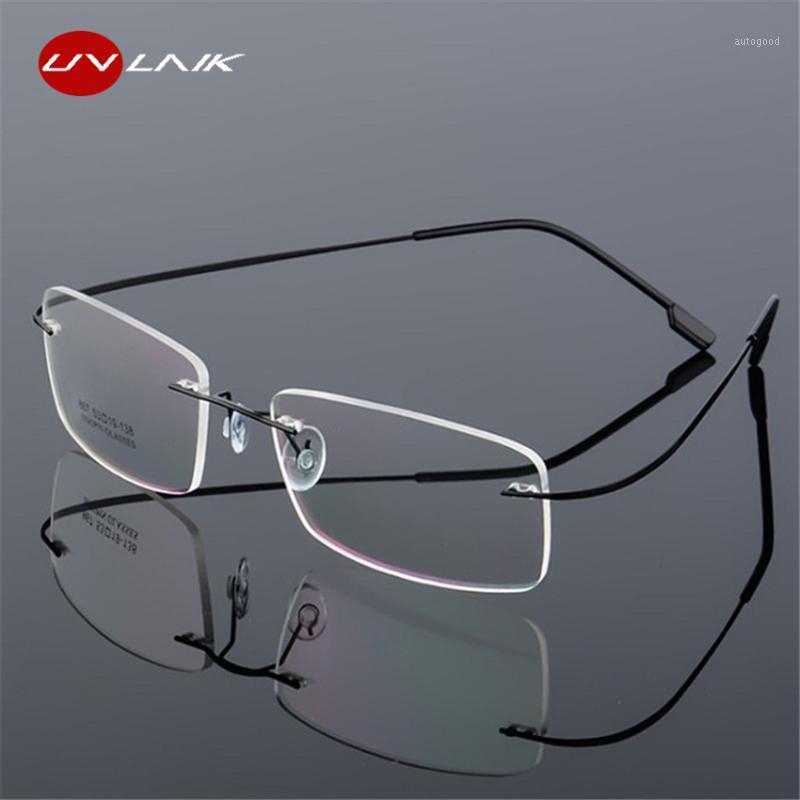Солнцезащитные очки Рамки UVLAIK RIMELEL TITANIUM Eyeglasses Женщины Мужчины Гибкие Оптические Рамки Рецептурные Очки Очки Бесконечные Очки Очки для глаз1