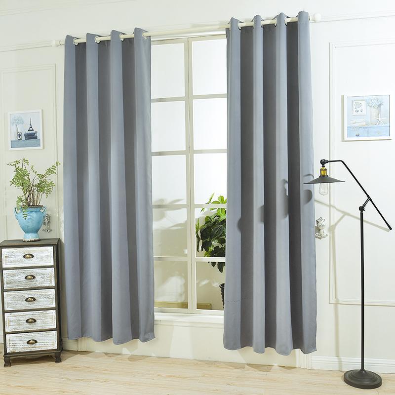 Urijk blackout cortinas para sala de estar cortinas de quarto para tratamento de janela cortinas continços finos 1 painel1