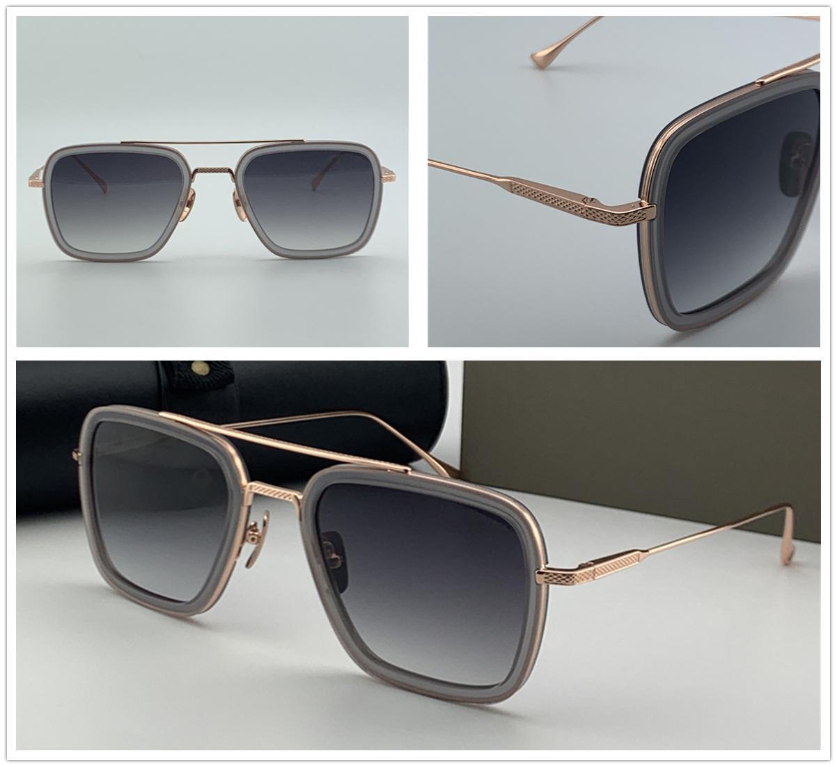 Tasarımcı Shades Sonnenbrille Erkek Tasarımcı Güneş Gözlüğü Kosta Göz Çerçeveleri Bayan Tasarımcı Gözlük Vintage Metal Gözlük Altın Çerçeve Gözlük 006