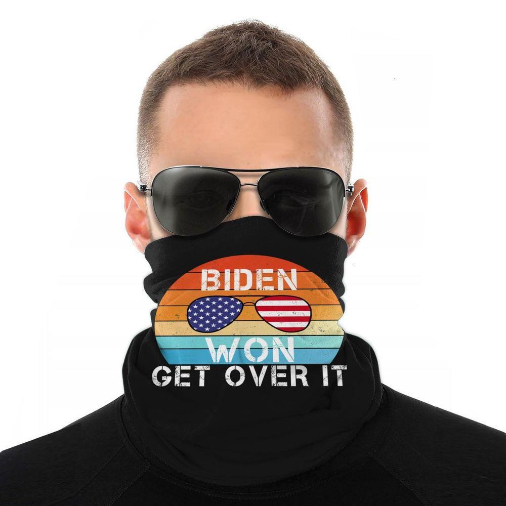 Boyun Biden Başkanı 2020 Amerika Kibar Yapmak Yine Eşarp Yüz Maskesi Cadılar Bayramı Boyun Gaiter Sorunsuz Bandanas Polyester Headwe01