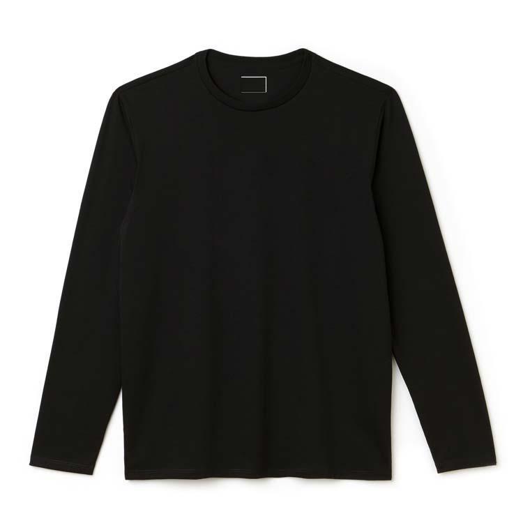 2020 manches longues coton de coton hommes t-shirts de causalité Sports de causalité Outwear Cool Nouveau T-shirt pour homme t-shirt t-shirt occasionnel t-shirt d'équipage de printemps occasionnel