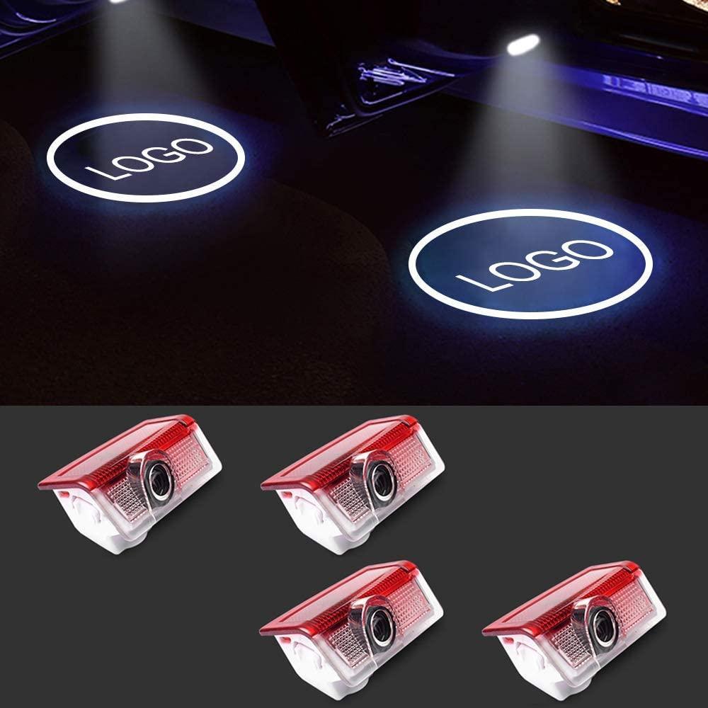 Benz Tür Logo Lichter Projektor LED 3D Shadow Ghost Light für Mercedes-Benz A / C / E / ml / GL / GLE / GLS / GLA / M Symbol Emblem mit freundlicher Genehmigung