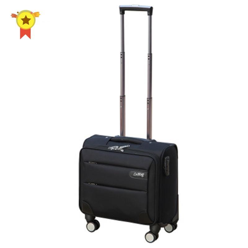 Valise de qualité haut de gamme 14/16/18/20 pouce embarquement bagages sur roues Oxford Chariot de chariot Portable Bagage Business Valise Sac LJ201119