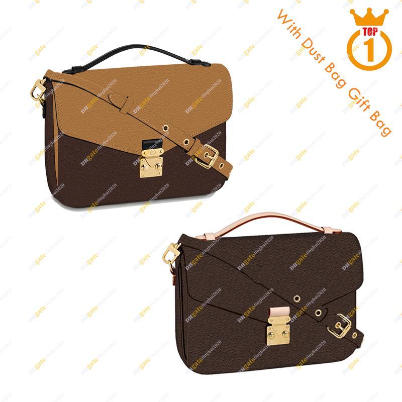 Nueva llegada de las señoras diseñador de moda casual de alta calidad 5A Messenger Bag / M40780 M41465 Metis Bolso de hombro Envío gratis en stock