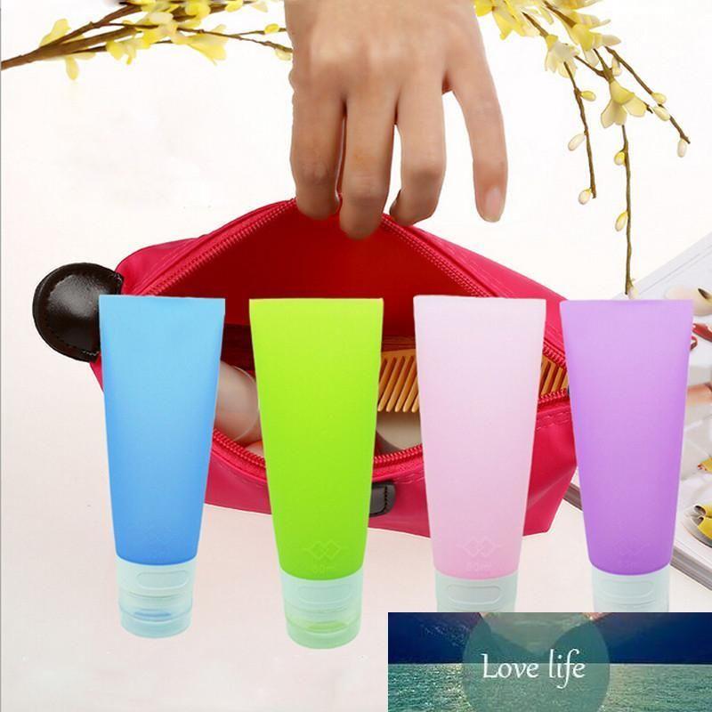 38ml / 80ML nette Minireise Silikon Verpackung Flasche Lotion Shampoo-Schlauch-Behälter-Speicher-Flaschen IC674579