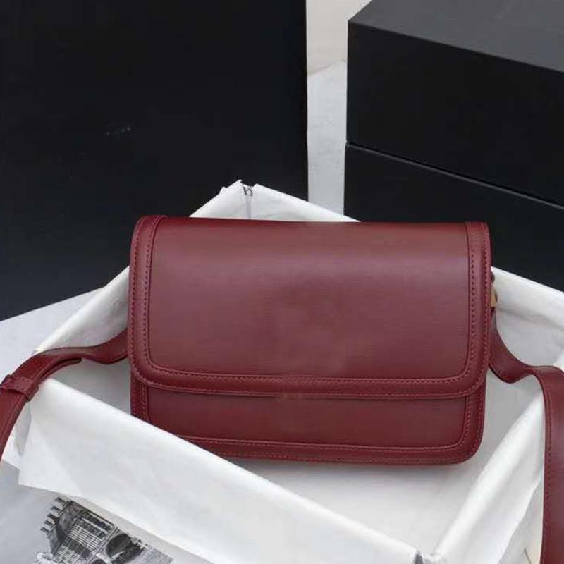 Fashion Messenger Bag Flap Handbag Purse Calfskin Leather Crossbody Bag Metal letter Spinning Lock Shoulder Bag High Quality Cross Body Bags