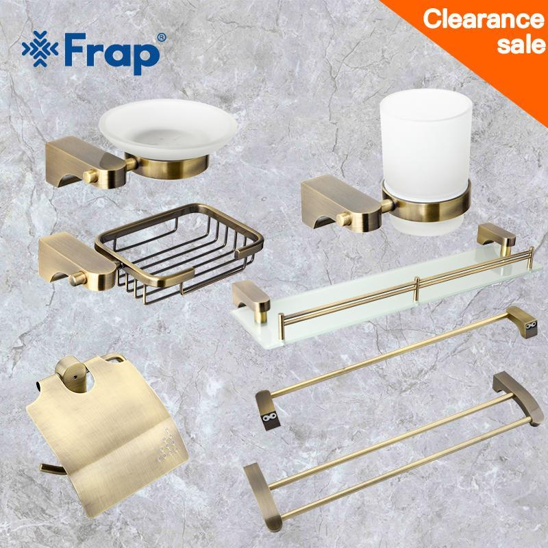 2020 Frap Clearance Sale Bathroom Hardware Sets Towel Rack ...