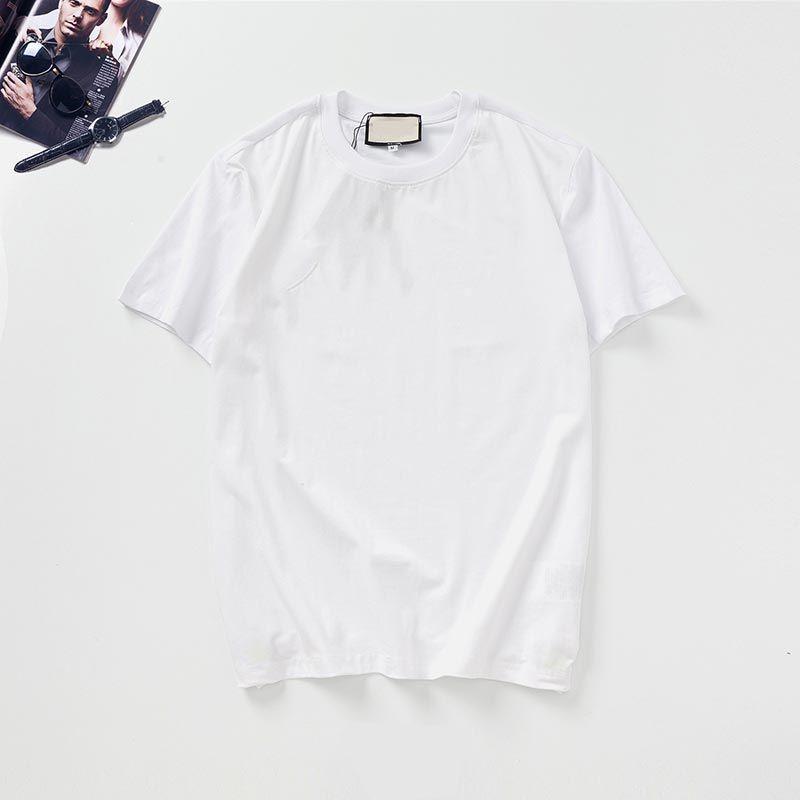 망 티셔츠 스타일리스트 Womens 여름 디자이너 힙합 흑백 짧은 소매 고품질 의류 탑 G