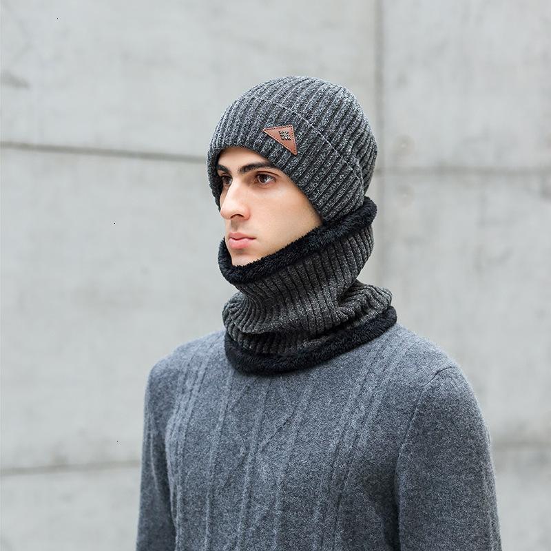 Nouvelle rue neige neil tricotée avec une tolle épaisse chaude chaude couverture protection contre le cou
