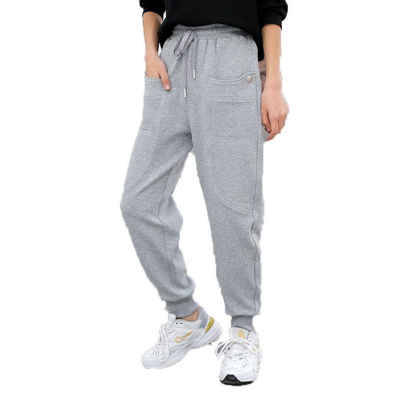 2021 Girls Long Trousers Kids Cotton Pants Kids Clothing 6-16 Years Casual Pants Children Girls Clothing Sport Pants Spring F0130