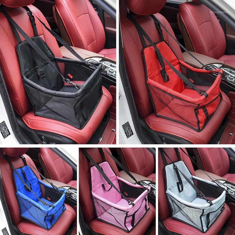 Travel Dog Автомобиль Обложка сиденья складной гамак ПЭТ-носители Сумка Протектор сиденье, несущее для кошек Щенок Щенок
