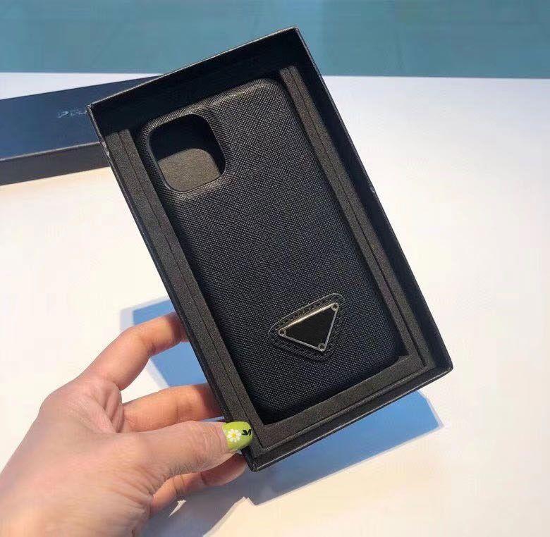 أزياء الهاتف الحال بالنسبة ل 12/11 / 11Pro / 11Pro ماكس / XR XSMAX X / XS 7P / 8P7 / 8 / أعلى جودة التصميم فون الكلاسيكية القضية مرة أخرى 2 الألوان