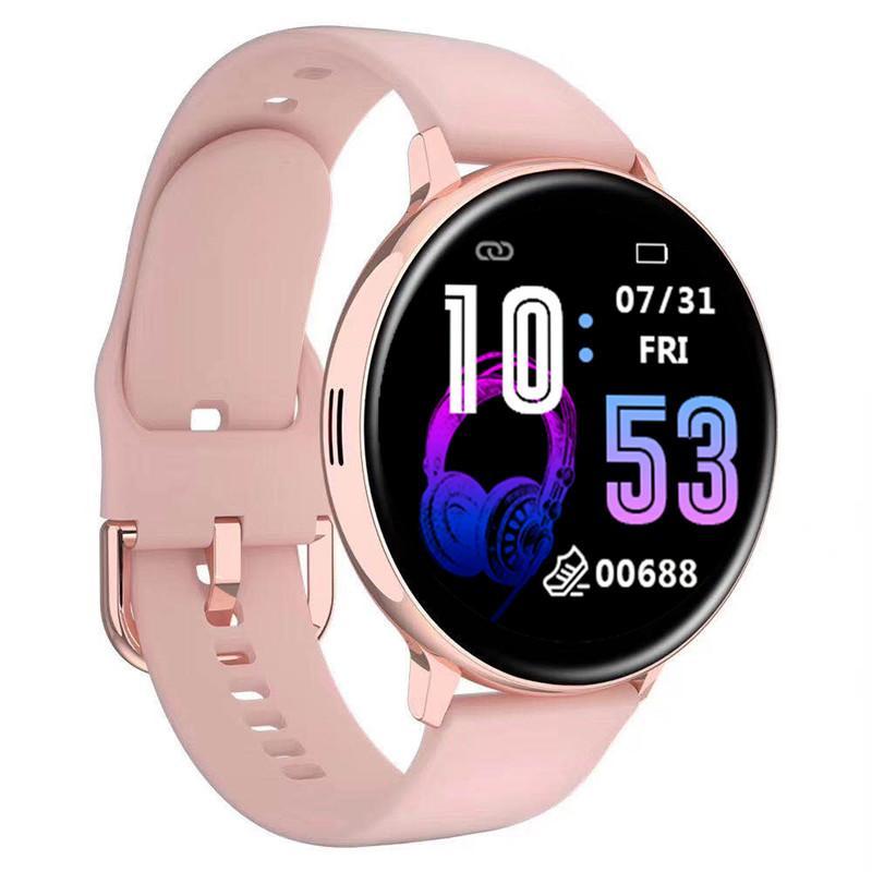حار بيع المرأة ساعة ذكية IP67 للماء جهاز لبس رصد معدل ضربات القلب ووتش الرياضة الذكية للحصول على الروبوت IOS طويل الاستعداد 1PCS / الكثير