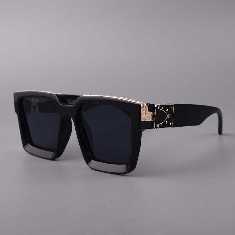 xEwh Fashion Heart Shaped Hommes Femmes métal réfléchissant Retrosol soleil Lunettes de soleil Miroir oculos de lunettes