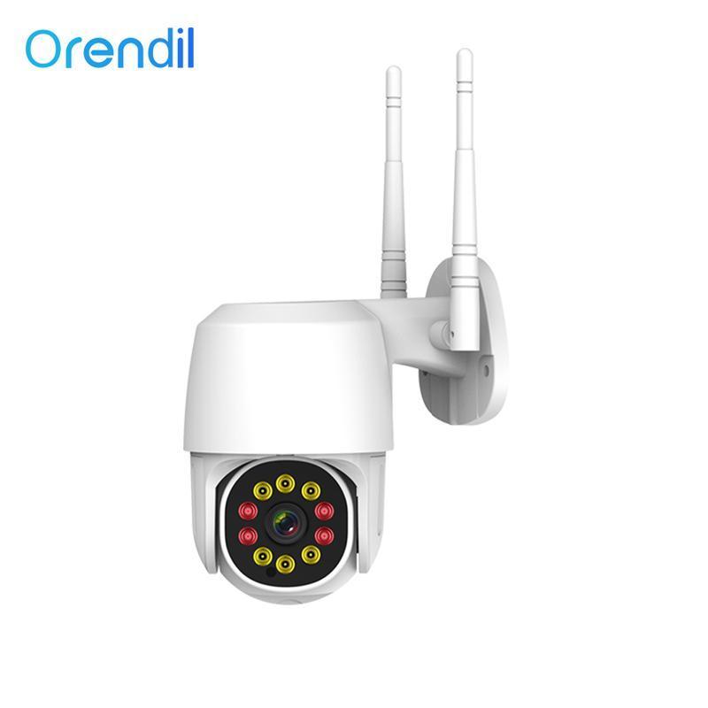 Orendil Outdoor PTZ sem fio 1080P IP Security Camera Camera Noite Full Color CCTV IP66 Vigilância Waterproof
