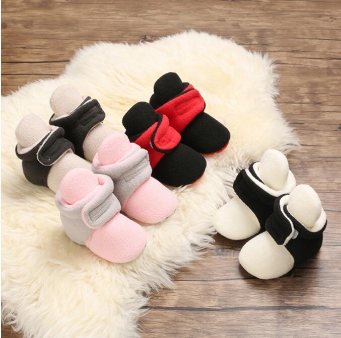 Детские носки обувь мальчик девушка малыш первые ходунки пинетки хлопок комфорт мягкий противоскользящий младенца девочек обувь 1-18м