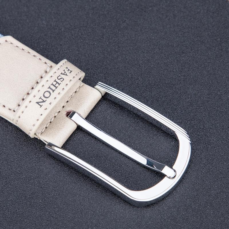 cinghia tessuta delle donne coreane con cintura regolabile per le ragazze e ragazzi elastico fascia fascia elastica 3rkGQ