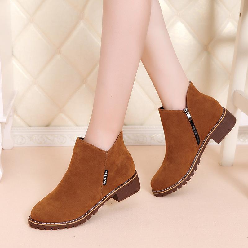 2020 mulheres retrô inverno 2020 sapatos casuais de moda vender botas de mujer quente 330Q