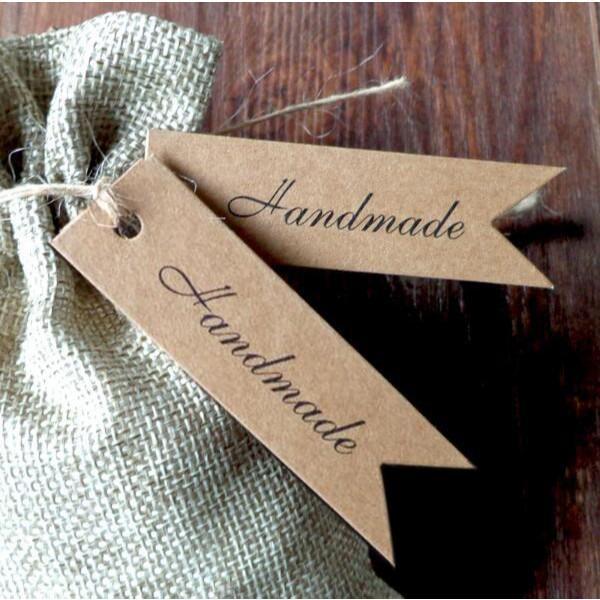 El yapımı Etiketler - Karton Etiket, Düğün Favor Takı 300pcs / lot