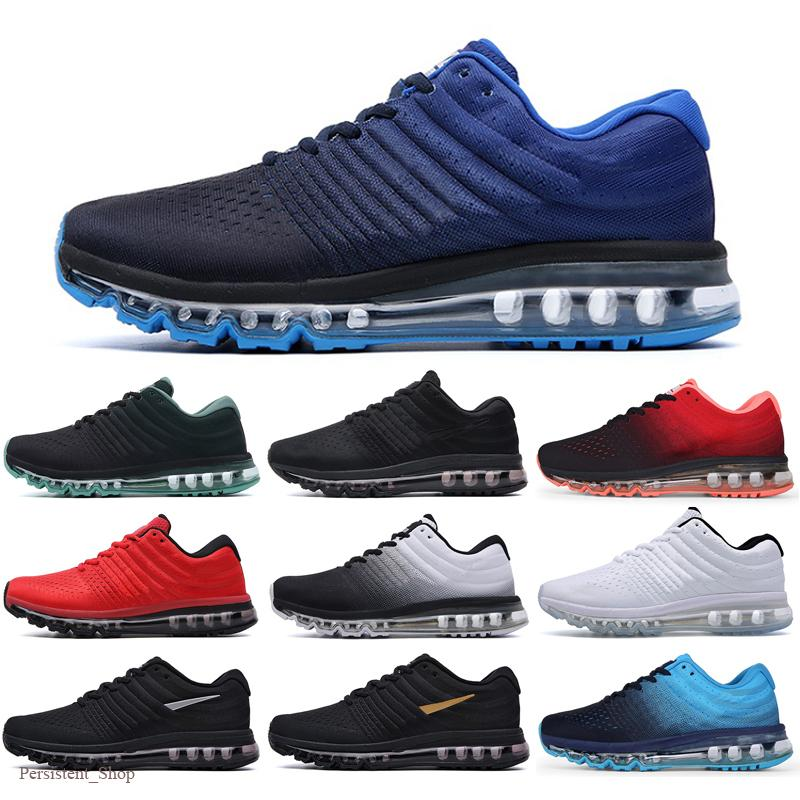 2017 Mens Running Shoes For Women Run Sneakers New Ourdoor Athletic Shoe 2017 Black Anthracite High Quality running Shoes EUR Size 36-45