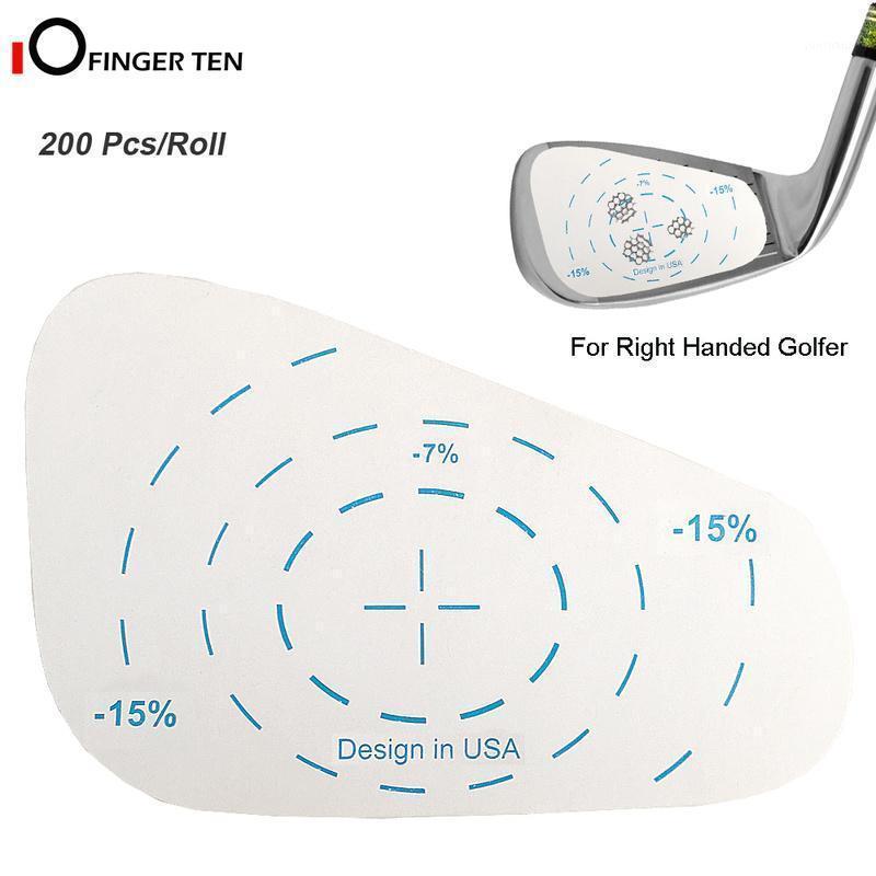 200 шт. Golf Hired Roll Roll Железорудные этикетки негабаритные качели тренировочный шар удар пополнения инструмента для мужчин женщин1