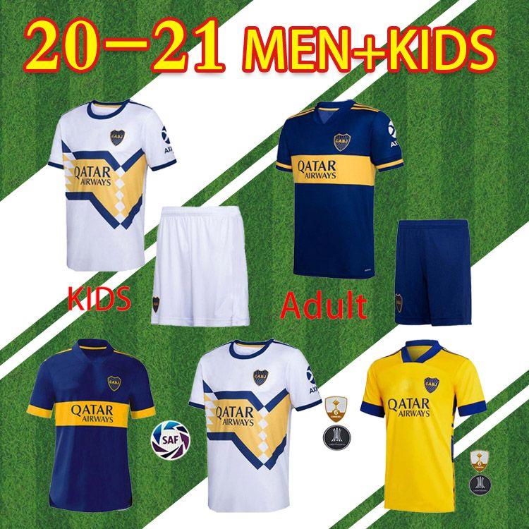 مراوح جديدة الإصدار 20 21 Boca Juniors Mailleots De Foot Soccer Jersey Salvio Tevez de Rossi 2020 2021 الصفحة الرئيسية Thouse 3