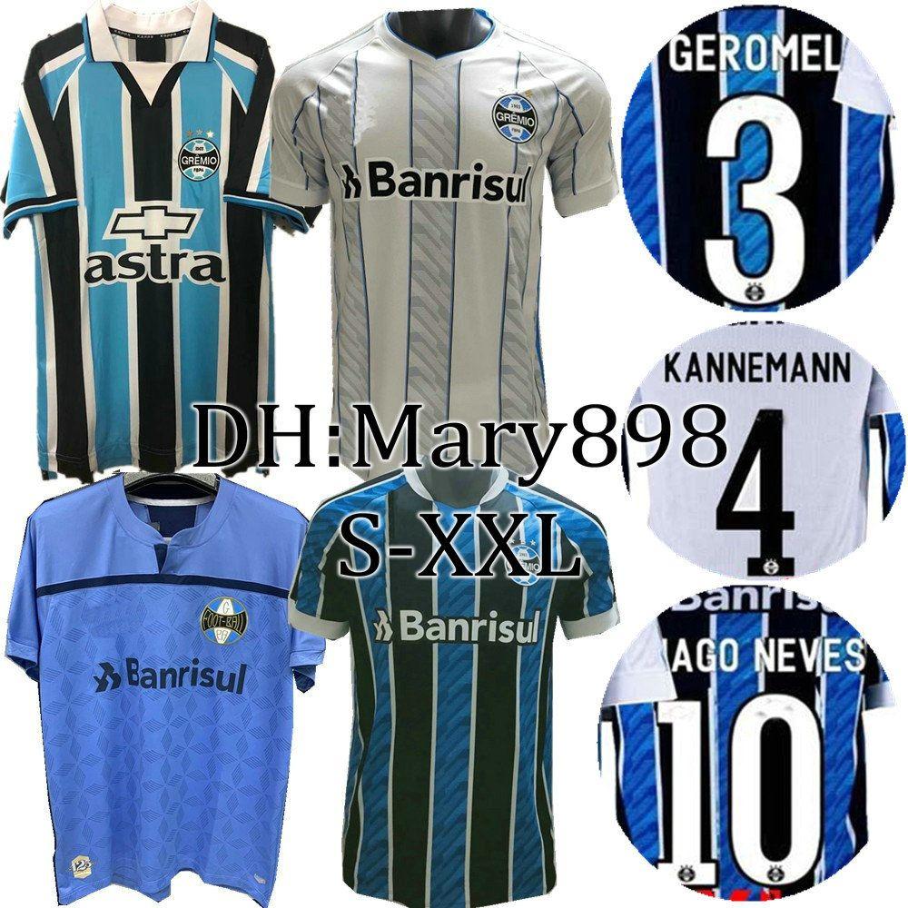 Top Qualität 2020 2021 Gremio Fussball Jersey 20 21 Gremior Müller Luan Douglas Diego Hailon Home Football Hemden S-XXL