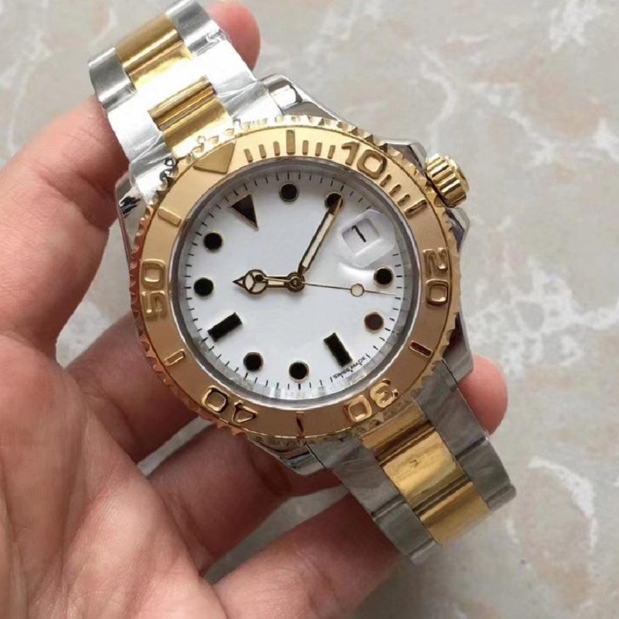 Высочайшее качество 2021 наручные часы 2813 Автоматическое движение Полный из нержавеющей спортивные люди мужские часы мужские часы