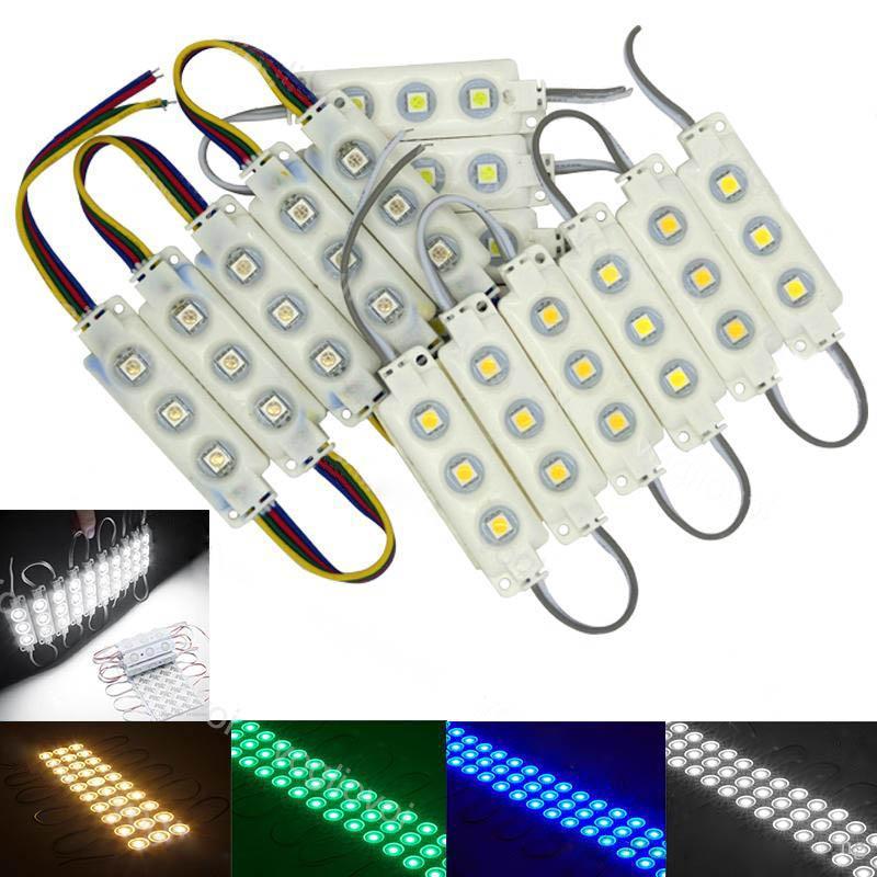 قاد الأبيض وحدات SMD 5050 متجر ويندوز الجبهة الضوء تسجيل مصباح حقن IP68 للماء بقيادة قطاع أضواء عيد الميلاد الإضاءة الخلفية