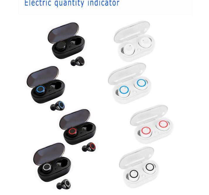 Y50 TWS Bluetooth 5.0 наушники-наушники беспроводные наушники наушники сенсорное управление гарнитура VS F9 для iPhone 11 12 Samsung S10 универсальный оптом